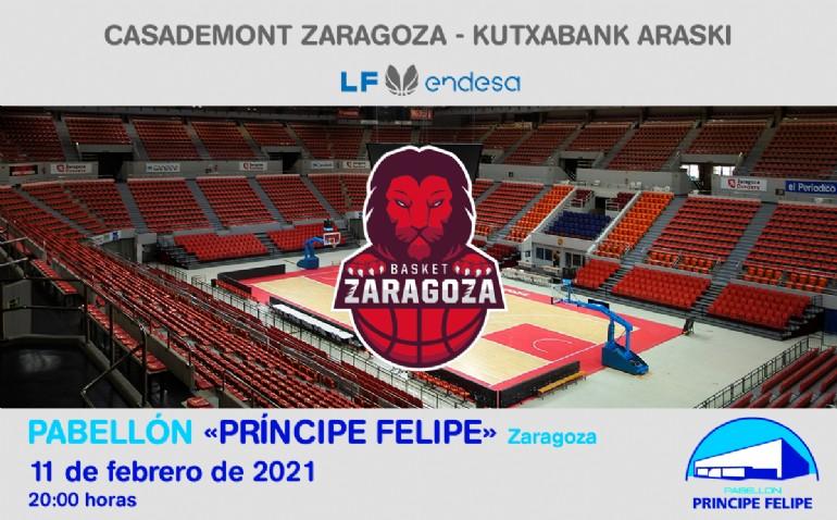 [L. F.] Casademont Zaragoza - KutxaBank Araski
