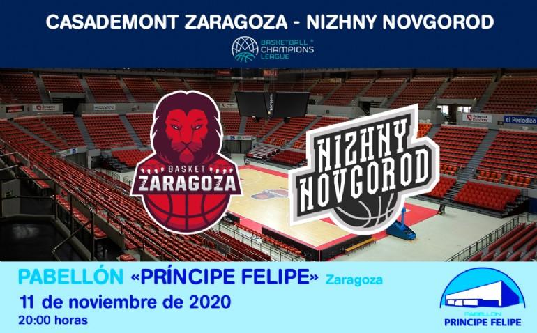 [UCL] Casademont Zaragoza - Nizhny Novgorod