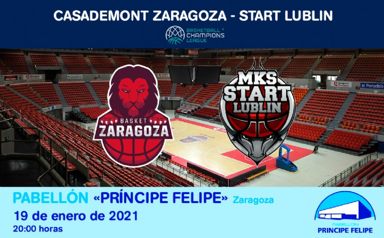 [UCL] Casademont Zaragoza - Start Lublin