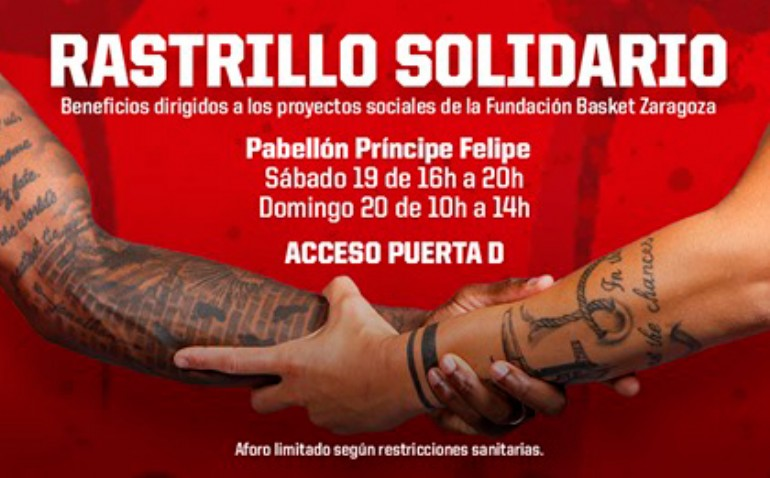 Rastrillo Solidario Fundación Basket Zaragoza