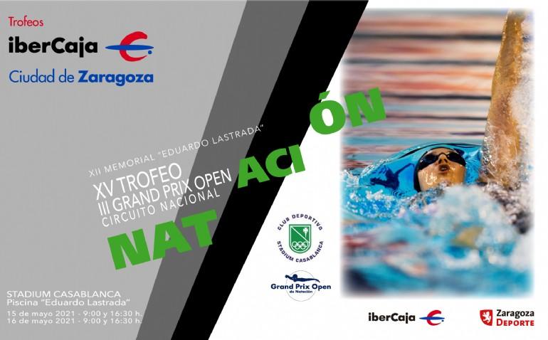 XV Trofeo «Ibercaja-Ciudad de Zaragoza» de Natación