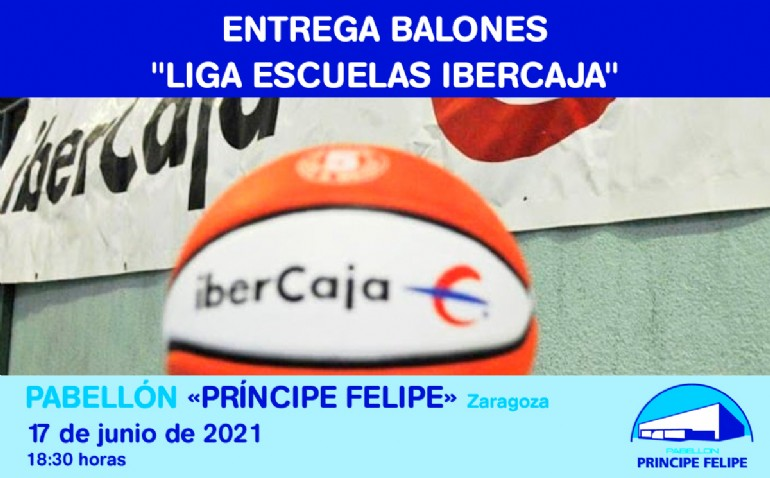Entrega de balones «Liga de escuelas Ibercaja»