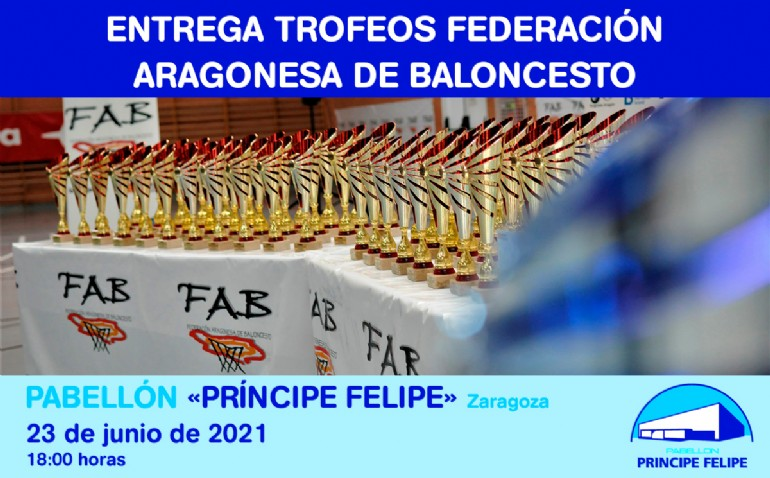 Entrega de Trofeos Federación Aragonesa de Baloncesto