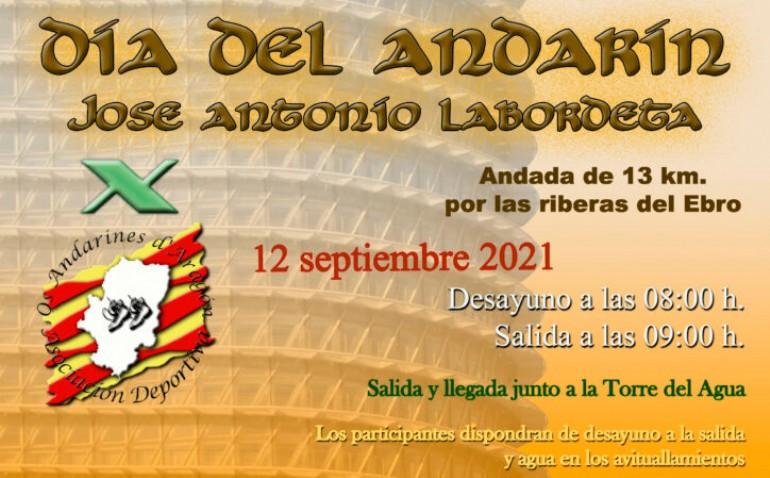 Día del Andarín 2021 «J. A. Labordeta»