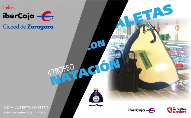II Torneo «Ibercaja-Ciudad de Zaragoza» de Natación con Aletas