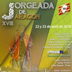 XVIII Jorgeada de Aragón 2019