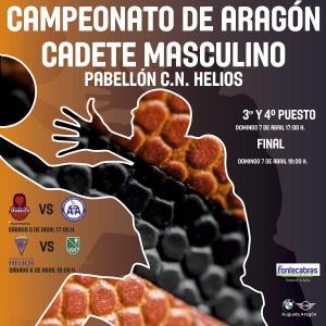 Campeonato de Aragón Cadete Masculino de Baloncesto