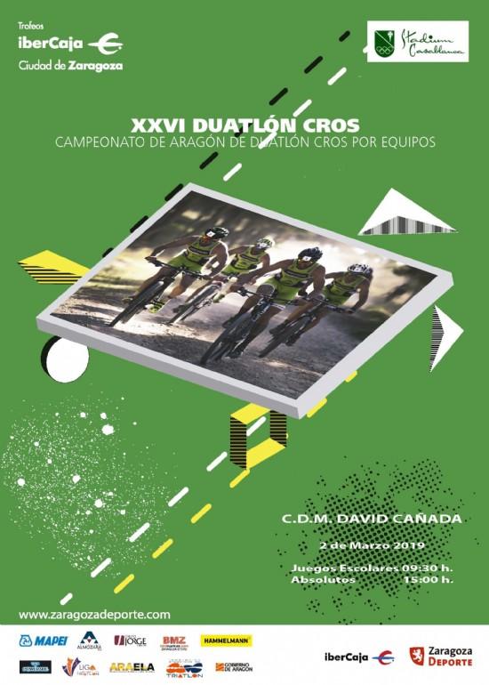 XXVI Trofeo «Ibercaja-Ciudad de Zaragoza» de Duatlón Cros
