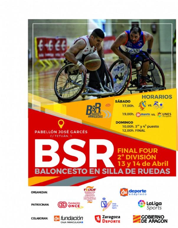 Final Four de la 2ª División de Baloncesto en Silla de Ruedas
