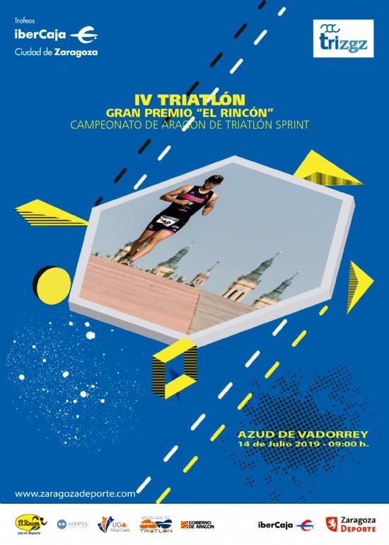 IV Triatlón «Ibercaja-Ciudad de Zaragoza». Gran Premio «El Rincón»