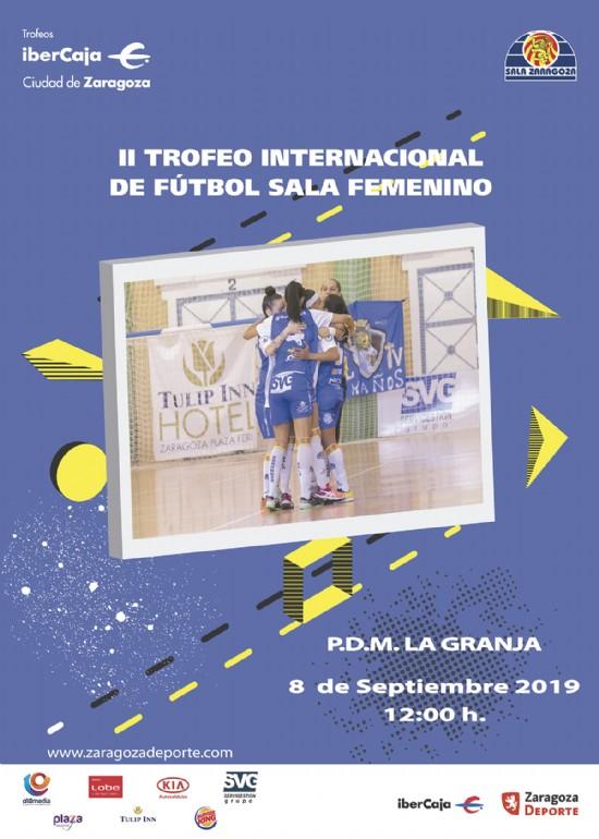 II Trofeo Internacional «Ibercaja-Ciudad de Zaragoza» de Fútbol Sala Femenino