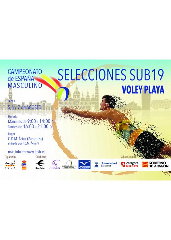 Campeonato de España de Voley Playa Masculino Sub-19
