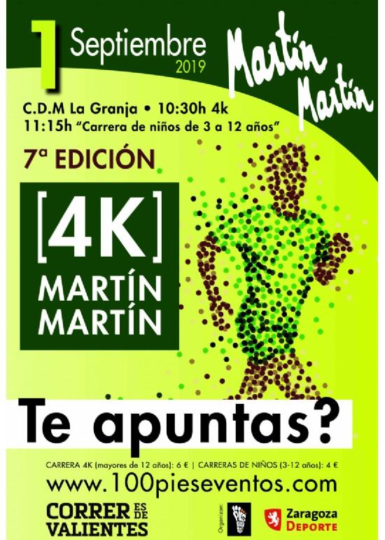 VII Carrera Popular Martín Martín 4K «Fiestas de San José»
