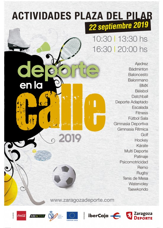 Día del Deporte en la Calle 2019
