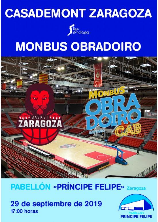 CASADEMONT ZARAGOZA - MONBUS OBRADOIRO