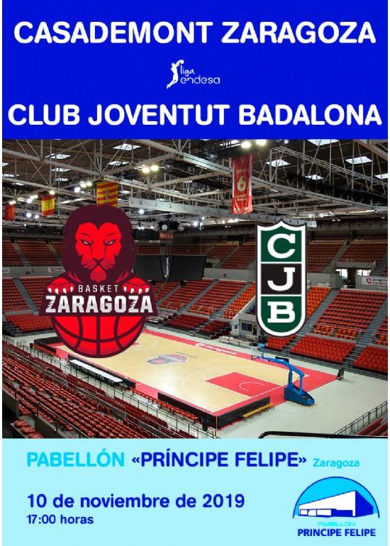 Casademont Zaragoza - Club Joventut Badalona