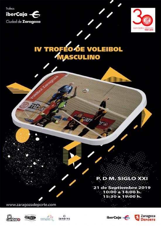 IV Trofeo «Ibercaja-Ciudad de Zaragoza» de Voleibol Masculino
