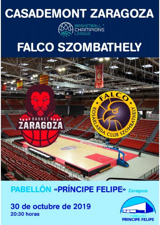 Casademont Zaragoza - Falco Szombathely