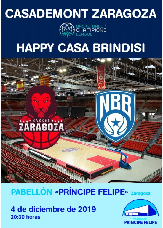 Casademont Zaragoza - HAPPY CASA BRINDISI
