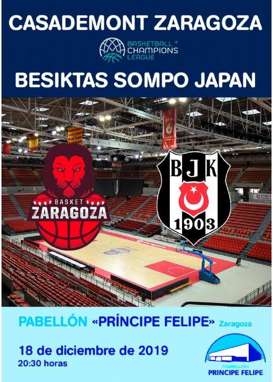 Casademont Zaragoza - BESIKTAS SOMPO JAPAN