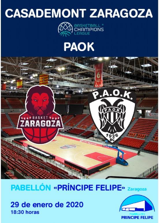Casademont Zaragoza - PAOK