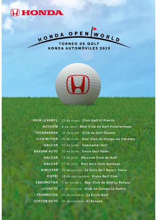 II Trofeo Honda Ebromotor de Golf