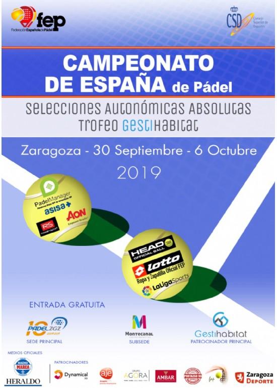Campeonato de España de Selecciones Autonómicas Absolutas de Pádel