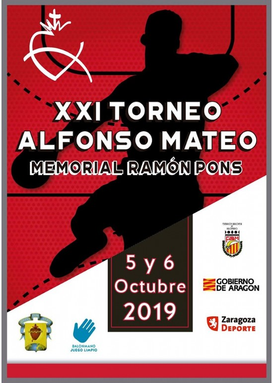 XXI Torneo de Balonmano «Alfonso Mateo» Memorial Ramón Pons