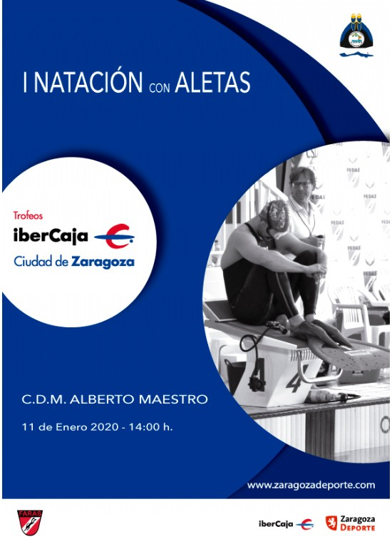 I Torneo «Ibercaja-Ciudad de Zaragoza» de Natación con Aletas