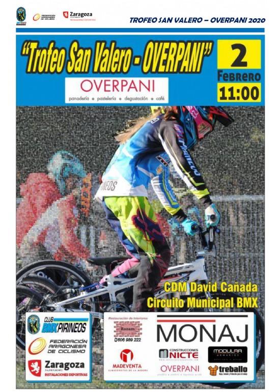 Trofeo San Valero «Overpani» de BMX