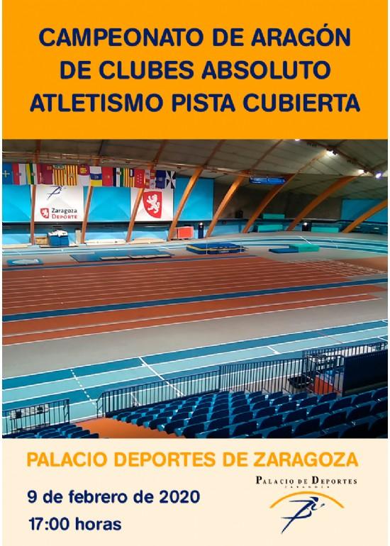 Campeonato de Aragón de Clubes Absoluto de Atletismo en Pista Cubierta