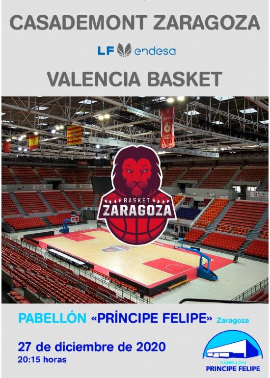 [L. F.] Casademont Zaragoza - Valencia BC