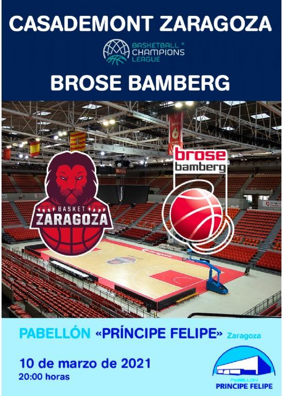 [UCL] Casademont Zaragoza - Brose Bamberg