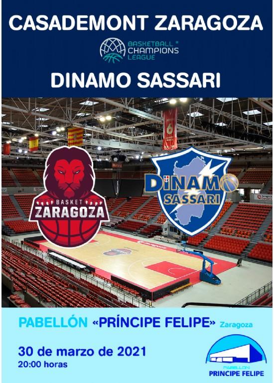[UCL] Casademont Zaragoza - Dinamo Sassari