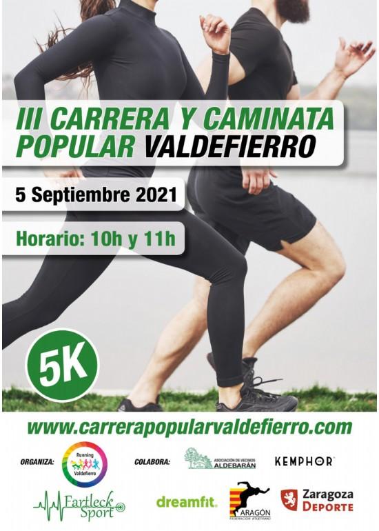 III Carrera y Caminata Popular Valdefierro