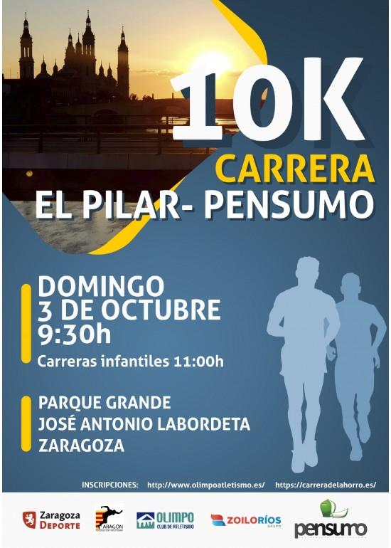 Carrera Popular 10k El Pilar - Pensumo