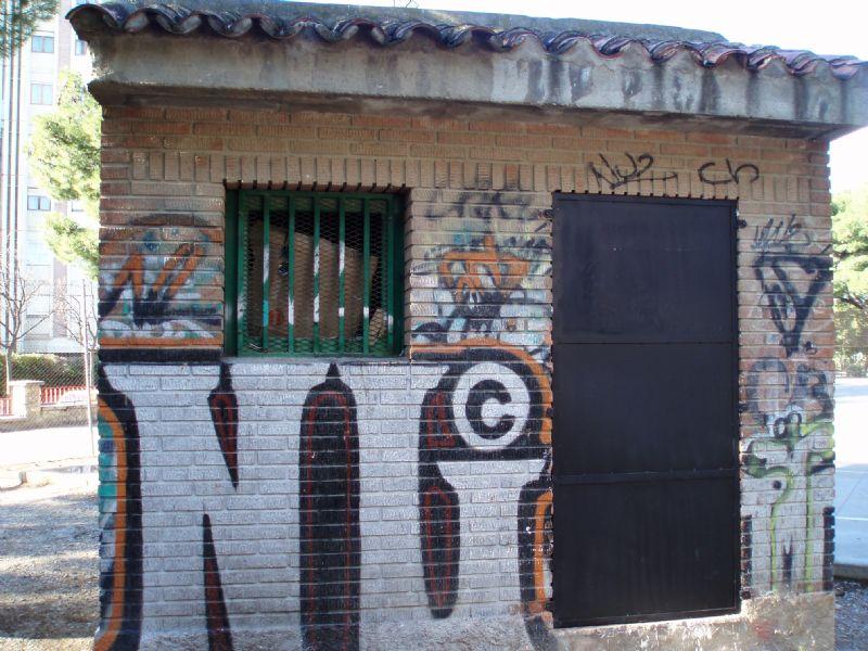 Módulo de Aseos IDE Parque Castillo Paloma [Fecha: 04/12/2012]
