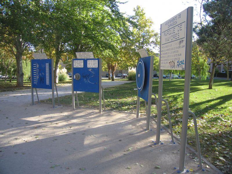 Estacion Giimnasia IDE Parque de la Taifa de Saracosta