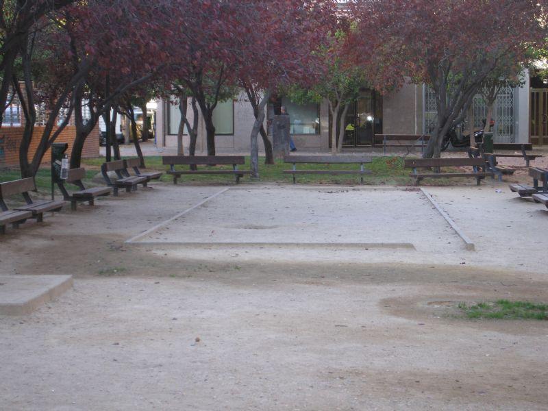 Petanca IDE Jardines Teresa Sarrato [Fecha: 09/11/2011]