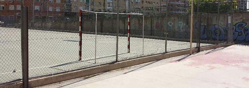Reparación del vallado [Fecha: 23/06/2014]