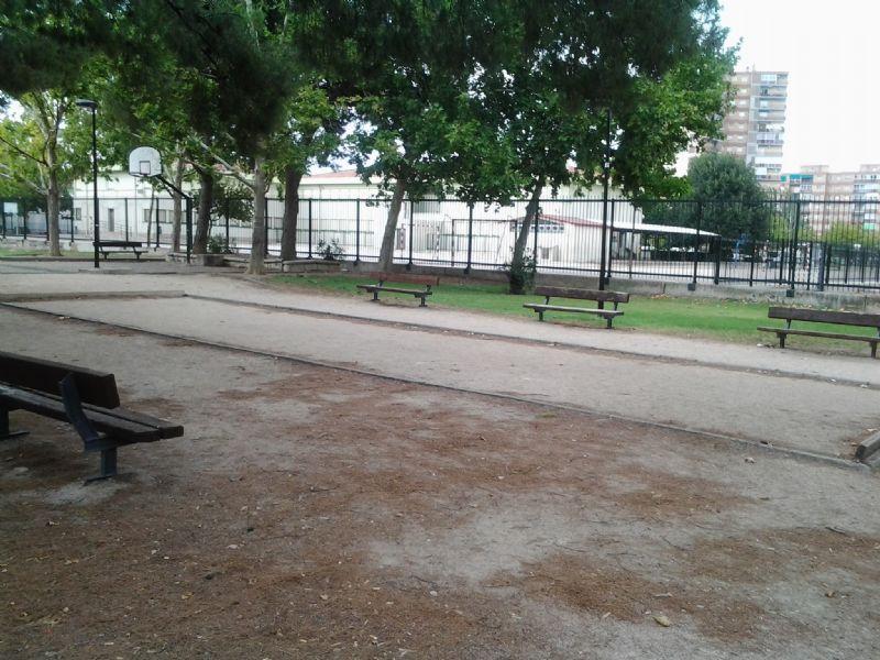 Petanca nº 2 IDE Parque Royo del Rabal