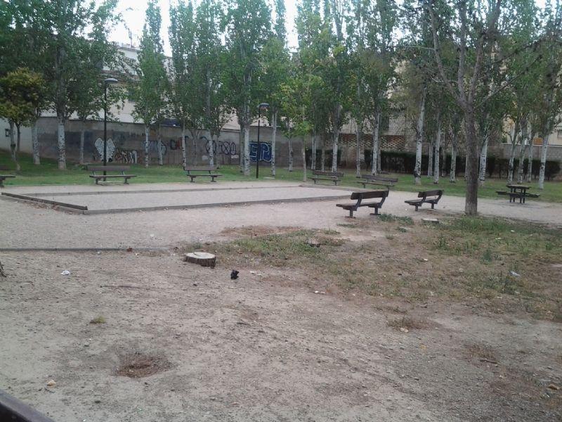 Petanca nº 3 IDE Parque Royo del Rabal