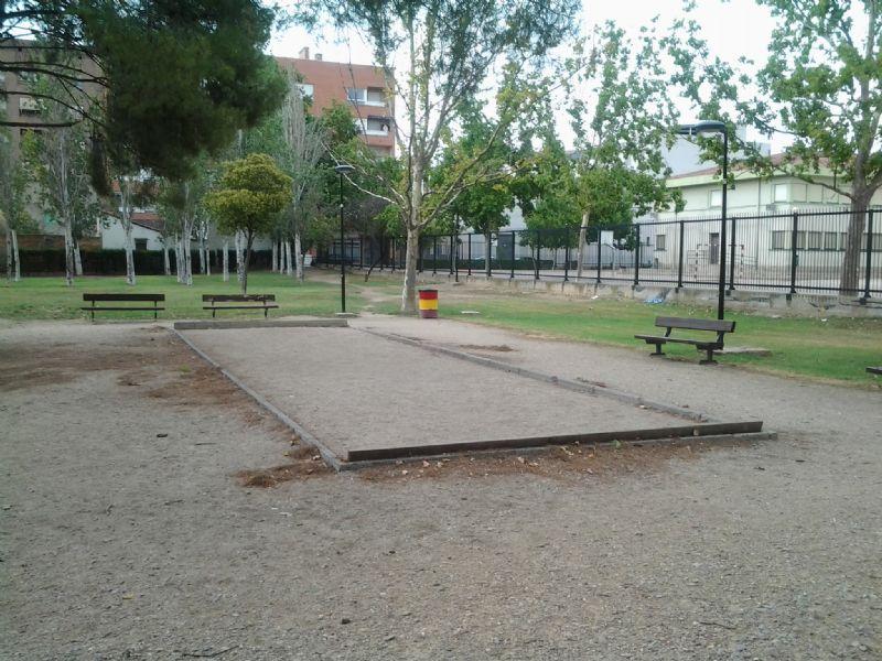Petanca nº 4 IDE Parque Royo del Rabal