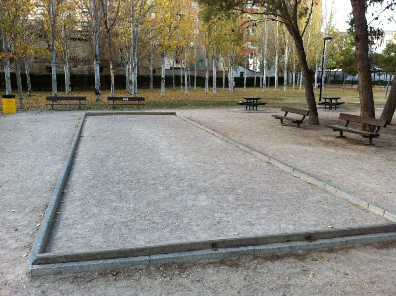 Petanca nº 1 IDE Parque Royo del Rabal