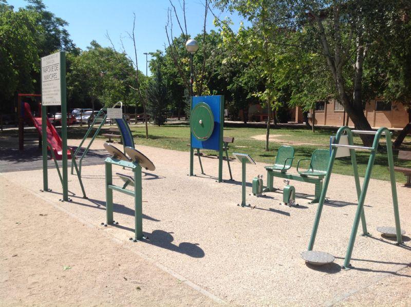 Estación gimnaisa IDE Jardines García Laborda
