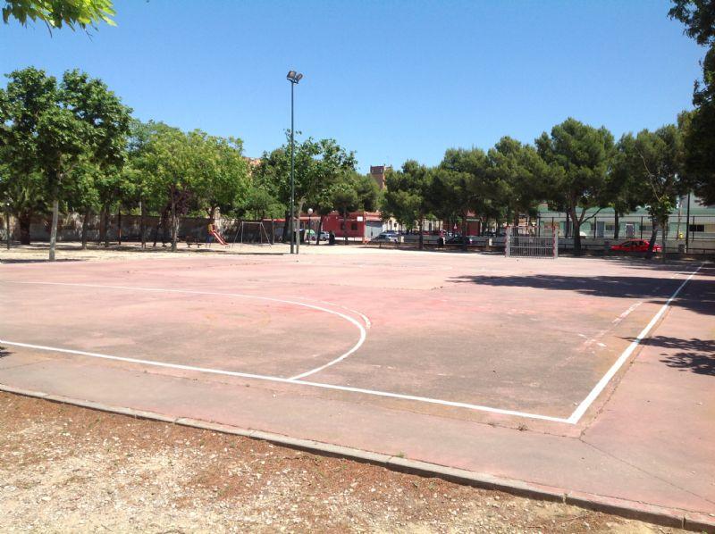 Vista completa campo balonmano [Fecha: 26/05/2015]