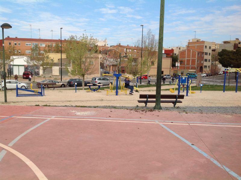 Estación gimnasia IDE Parque Crónica del Alba [Fecha: 07/04/2015]