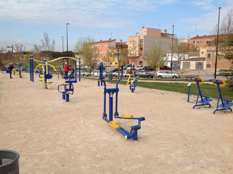 Estación gimnasia IDE Parque Crónica del Alba