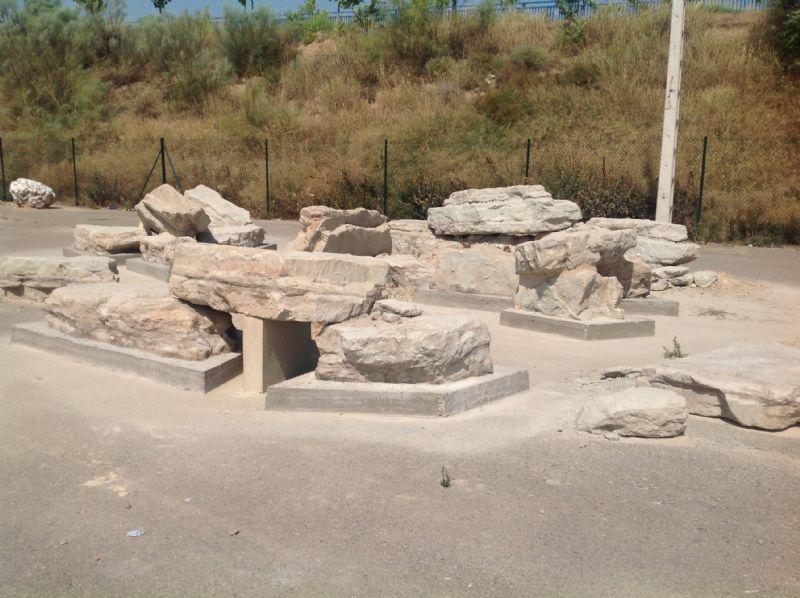 Piedras fijadas [Fecha: 06/07/2015]