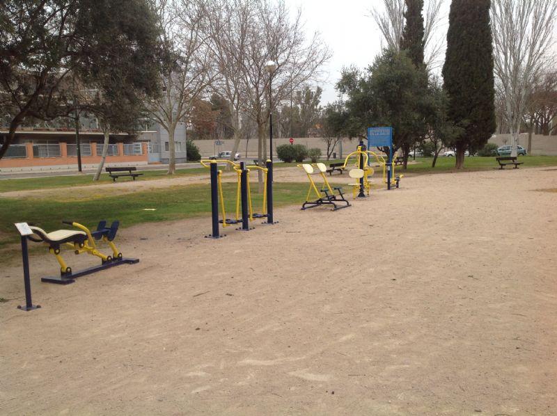 Estación gimnasia IDE Jardines de Atenas